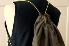 rucksack aus hosenbein